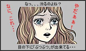 目の下ぶつぶつ